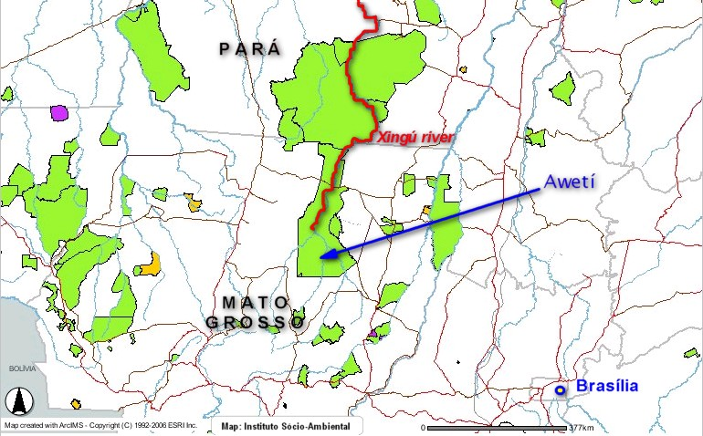 The Xingú Park and the northeast of Mato Grosso