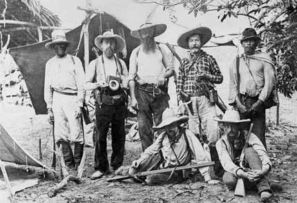 Members of the second Xingú expedition 1887