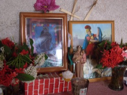 Guille's home altar