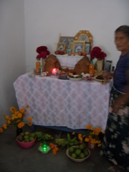 Petrona's All Saints´Altar