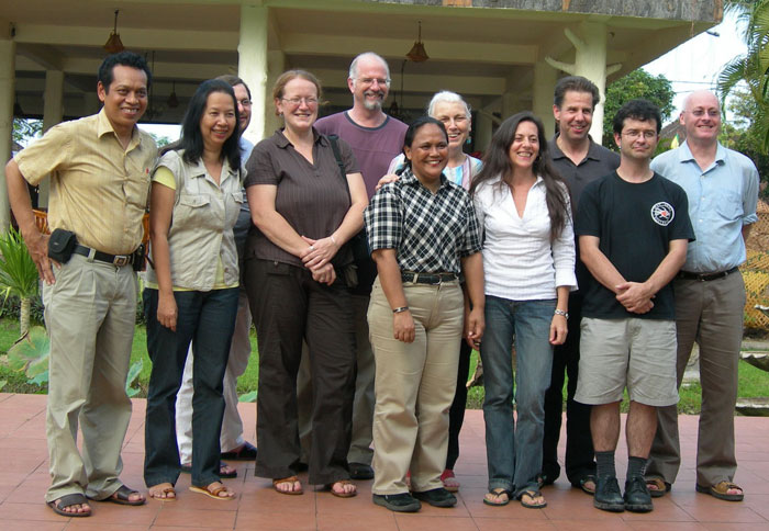 Tutors of the 2007 Capacity Building Workshop held in Ubud, Bali